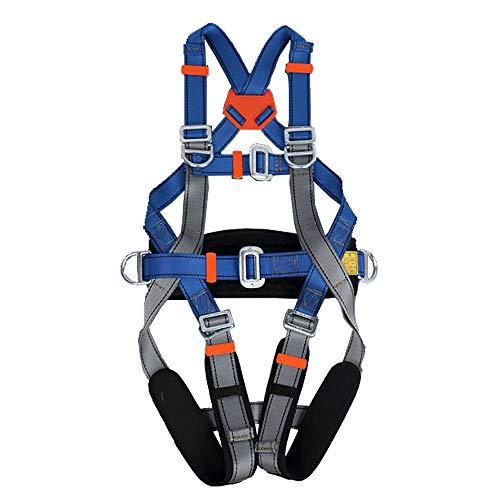 Imbracatura da Arrampicata, Imbracatura di Sicurezza per Tutto Il Corpo, per Arrampicata su Roccia Cintura di Sicurezza da Arrampicata in Montagna attività di Avventura all'aperto