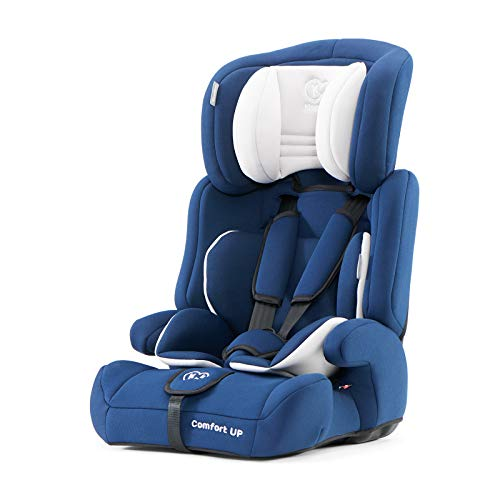 Kinderkraft Kinderautositz Comfort Up Autokindersitz Autositz Kindersitz 9-36kg Gruppe 1 2 3 ECE R44/04 geprüft 5-Punkt-Sicherheitsgurt Dunkelblau