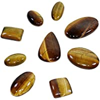 Natural Tiger Eye Cabochon Set Of 3 Chakra Healing Crystal, Meditation Stones, Yoga Crystals, Spirituality Stones... preisvergleich bei billige-tabletten.eu