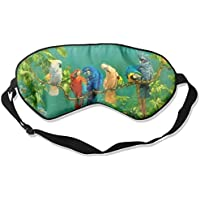 Sleep Eye Mask Abstract Parrot Bird Lightweight Soft Blindfold Adjustable Head Strap Eyeshade Travel Eyepatch preisvergleich bei billige-tabletten.eu