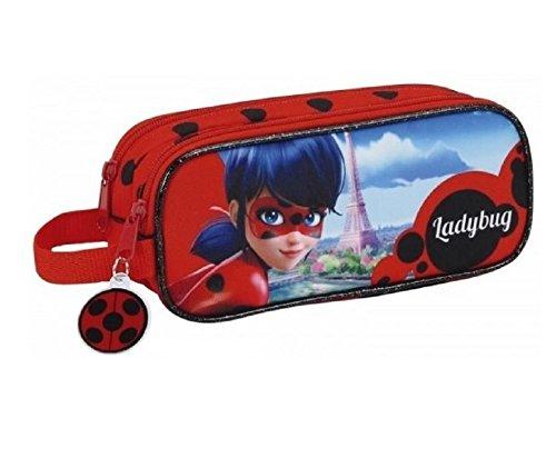 Ladybug doble estuche escolar