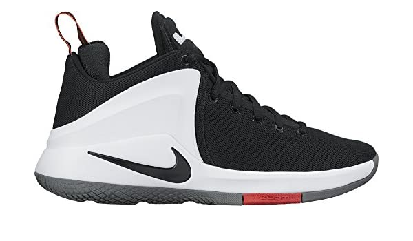 7c60061dfbf75 Nike Mens Lebron Zoom Witness Basketball Shoes Black White University Red  852439-003 Size 11  Buy Online at Low Prices in India - Amazon.in