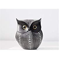 ASFAS Wine Cabinet Decoration Resin Owl Children