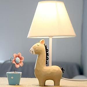 lila pferd shaped lampe mit stoffschirm sport freizeit. Black Bedroom Furniture Sets. Home Design Ideas