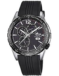 14904ae7a9e3 Amazon.es  Lotus - Caucho   Relojes de pulsera   Hombre  Relojes