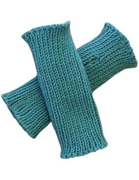 100% Merino Wolle Baby Kleinkind Armstulpen Knit Fäustlinge