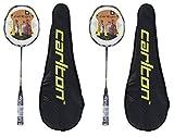 Carlton Nanoblade Pro Lot de 2 raquettes de badminton