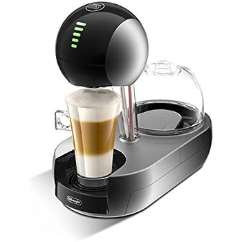 DeLonghi Dolce Gusto Stelia - Cafetera espresso monodosis, interfaz intuitivo, color plateado