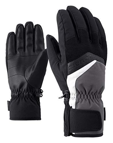 Ziener Herren GABINO glove ski alpine Ski-handschuhe, grau (magnet), 9