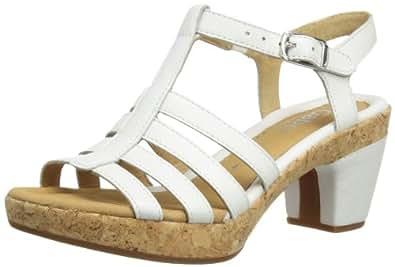 Gabor Impression L, Women's Sandals, White, 10 UK