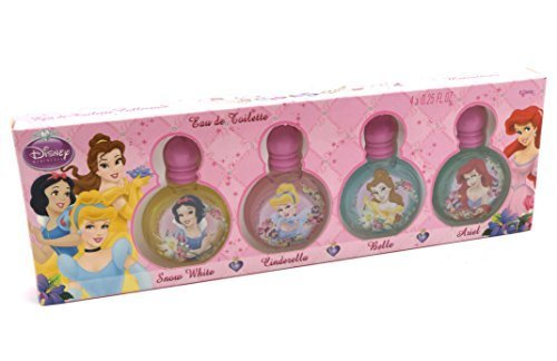 Disney Princess Variety Collection By Disney For Women. Set-4 Piece Mini Variety With Snow White & Cinderella & Beauty And The Beast & Sleeping Beauty by Disney