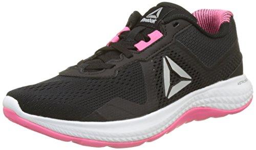 Reebok Astroride Duo Edge, Zapatillas de Running Para Mujer, Negro (Black/Solar Pink/Silver Met/White/Alloy), 37.5 EU