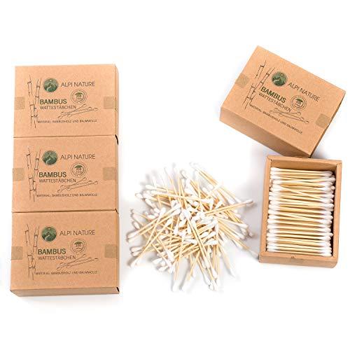 Bastoncillos de bambú para las orejas