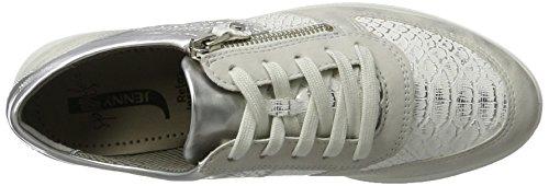 Jenny Glendale, chaussons d'intérieur femme Weiß (ice/weiss,Cloud/Silber)