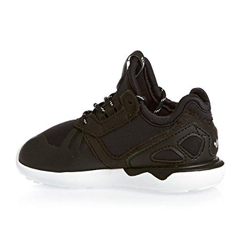 adidas - Tubular Runner K, Sneaker Unisex - Bambini Nero/Bianco