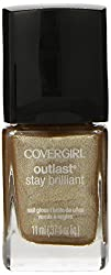 Covergirl Outlast Stay Brilliant Nail Gloss, Golden Opportunity 230, 0.37 Ounce by COVERGIRL