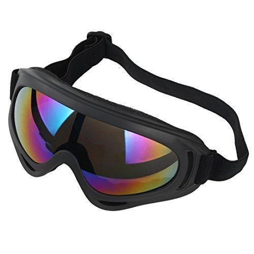Andux Zone Jagd Airsoft X400 Wind Staubschutz Tactical Schutzbrille-Motorrad Brille GL-04 (colorful)