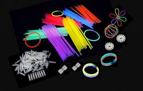 Starlight Glowstick Disco, 100 Stück, mehrfarbig 01