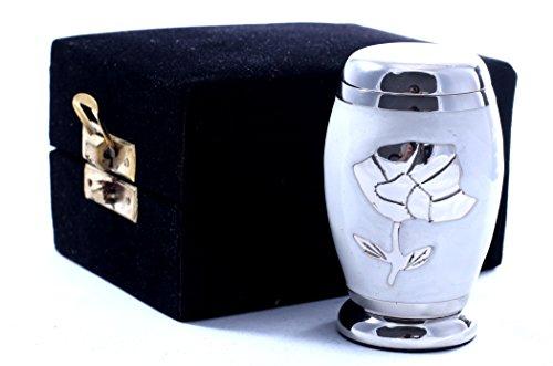 Urns UK - Urna de metal, color pantalla funeraria Urns en casa o en ni