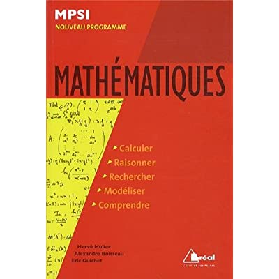 MSFA mathématiques MSPI