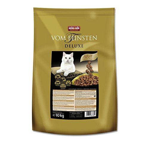 Animonda Vom Feinsten Deluxe Adult Grain-free, Trockenfutter für erwachsene Katzen von 1-6 Jahren, mit Forelle, 10 kg