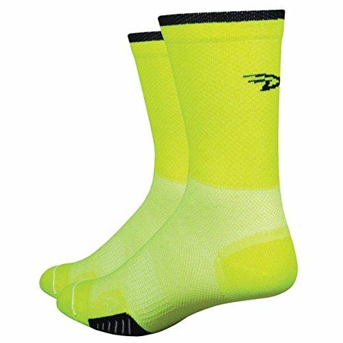 defeet-cyclismo-hivis-cycling-socks-neon-yellow-m-40-425