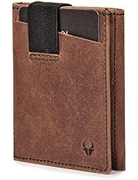DONBOLSO® Wallety 2 I Slim Wallet im Kreditkartenformat aus Leder mit RFID-Schutz