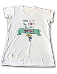"""Camiseta con dibujo """" Claro que sí mi mami es la más guapi"""""""