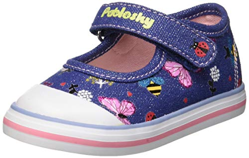 11c5a02c8e7 Pablosky Zapatillas sin Cordones para Niñas, (Azul 953620), 26 EU