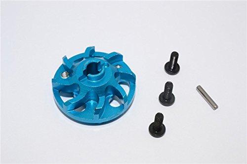Traxxas Craniac Upgrade Pièces Aluminium Spur Gear Adapter (For Original Spur Gear) - 1Pc Set Sky Blue