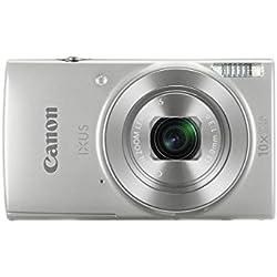 Canon IXUS 190 SL Appareil photo numérique 20.0 Mpix Zoom optique 10 x Argent