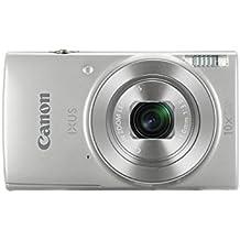 """Canon IXUS 190 - Cámara compacta de 20 MP (pantalla de 2.7"""", 20x ZoomPlus, modo Smart Auto, Date Button, Easy Auto, Creative Filter, Canon Camera Connect, WiFi) plata"""
