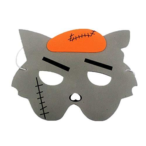 YiyiLai 1 St¡§1ck Weihnachten/Halloween Dekor Kindergarten Spiel Masken ()
