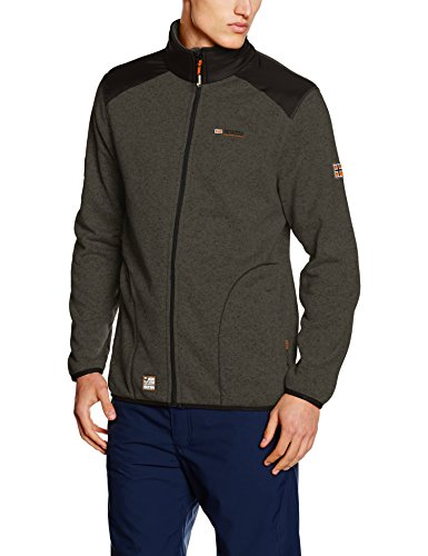 Geographical Norway Herren Jacke Tuteur Men Grau (D.GREY/BLACK)