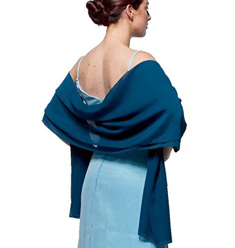 atopdress - Robe - Portefeuille - Sans Manche - Femme Noir noir Azul De La Pizarra