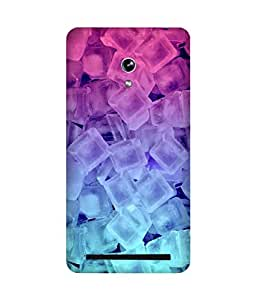 Ice Gradient Printed Back Cover Case For Asus Zenfone 6