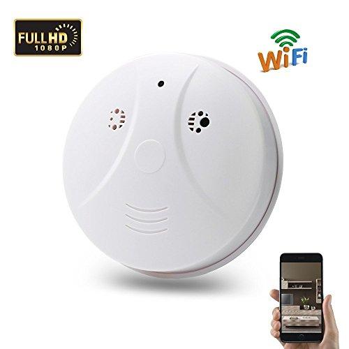 Camara Espia WIFI 1080P HD Cámara de Seguridad TANGMI Cámara Ocultada de Interior Videocámara con Movimiento Activado IP P2P Control Remoto del iPhone Android