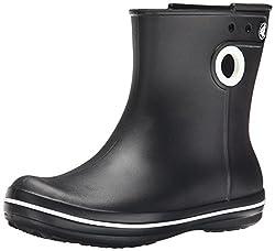 crocs Womens Jaunt Shorty Boot Black 5 B(M) US