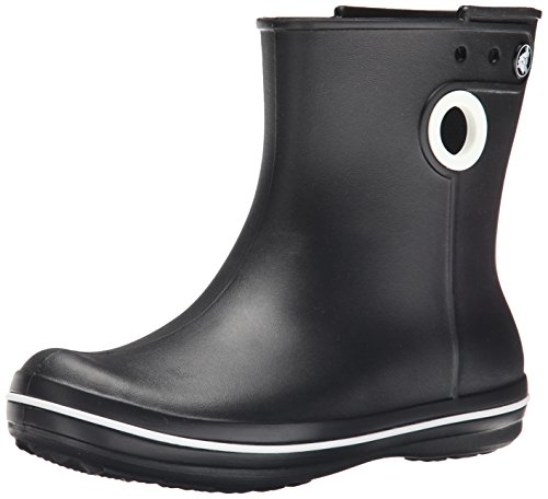 crocs Jaunt Shorty Boot Women, Damen Gummistiefel, Schwarz (Black), 34/35 EU