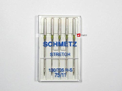 SCHMETZ JEANS-aghi Needle 130-705 H-J piatto PISTONE assortimento punti di forza 90-110