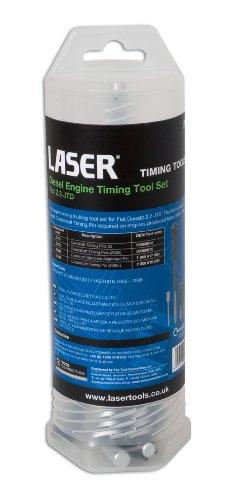 Laser 4636 Coffret d'outils de calage de distribution pour moteurs diesel Fiat 2.3 JTD pas cher