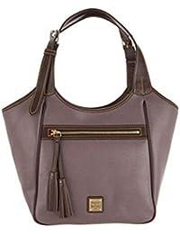 Fur Jaden Shoulder Bag (Dark Brown Color)