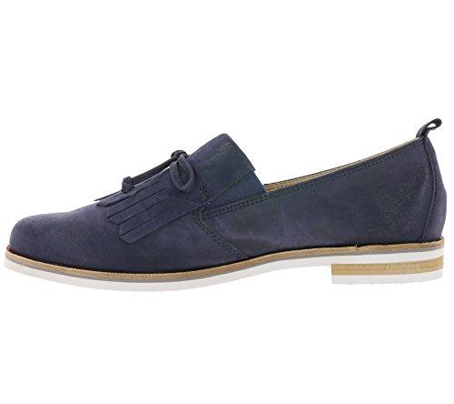 Caprice 24204, Mocassins Femme Bleu (Navy Pearl 812)