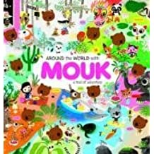 Around the World with Mouk (Sticker Book) by Marc Boutavant (2009-03-01)