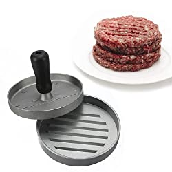 Kitchen Hamburger Press Meat Patty Mold Maker 12cm/4. 8inch