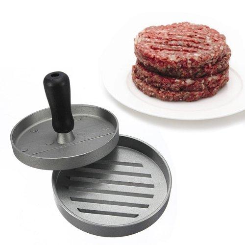 Preisvergleich Produktbild [ Kostenlose Lieferung - 7-12 Tage] Küche Hamburger Presse Meat Patty Form Hersteller Pounder Metal Machine 12cm / BML® // Kitchen Hamburger Press Meat Patty Mold Maker 12cm/4.8inch