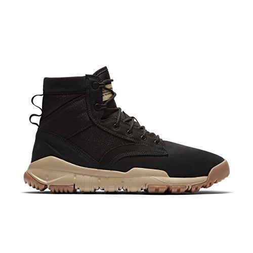 Scarpe da Corsa Uomo Nike SFB 6 NSW Leather black/ black-mushroom