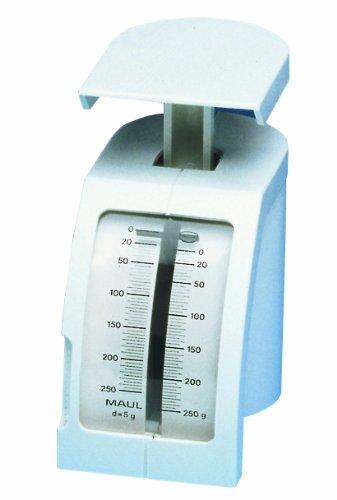 Maul 1450202 Feder-Briefwaage, 250 g, weiß