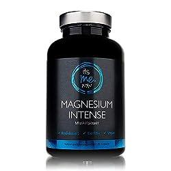 itsme.now Magnesium Intense - Premium Magnesium Kapseln 600mg elementares Magnesium pro Tagesdosis I hochdosiertes Magnesiumoxid vegan ohne Zusatzstoffe I Magnesium made in Germany 180 Stück