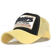 gorras beisbol, Sannysis Gorra para hombre mujer Sombreros de verano gorras de camionero de Hip Hop Impresión bordada, talla única (Buff)